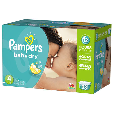 Couches pour b b pampers baby dry format g ant couches et lingettes couches pampers sani - Couche bebe pour piscine pampers ...