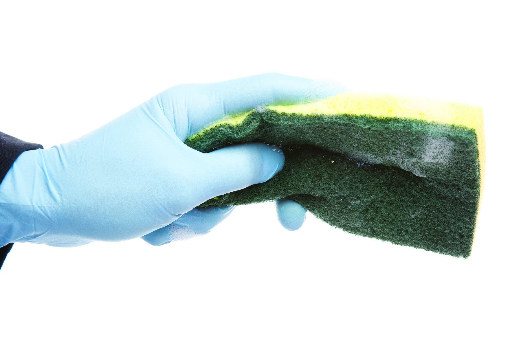 tampon rcurer en nylon - Dfinition - franais
