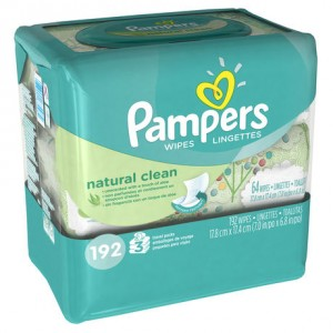 Natural Clean Pampers